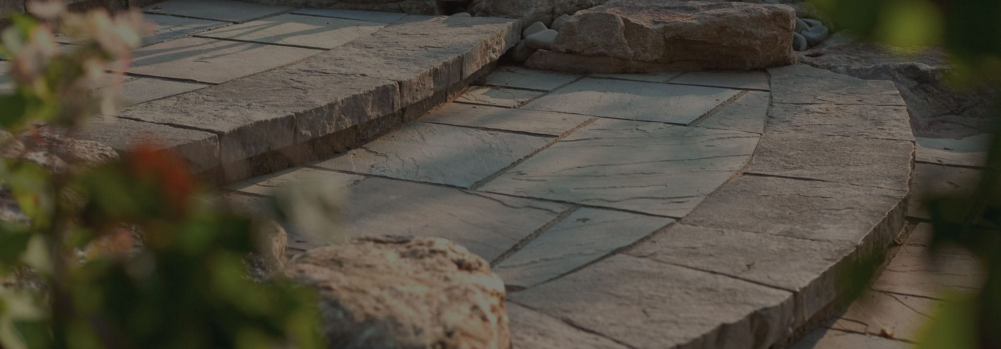 Natural Flagstone in Burlington Oakville and all Southern Ontario
