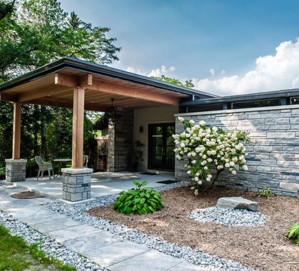 Stone Veneer in Burlington