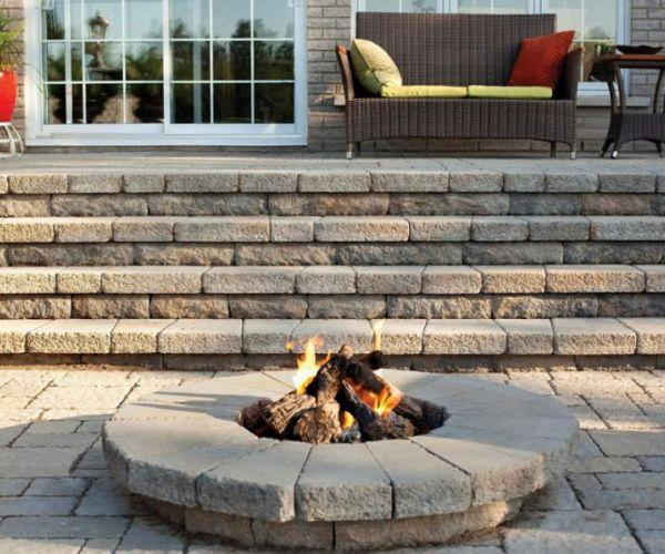 Fire Pits and Fire Places