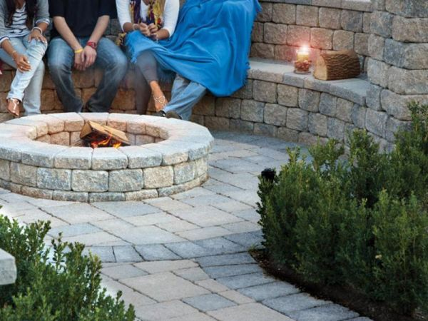 Fire Pits at Legends Landscape Supply