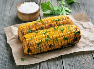 Healthy corn recipe